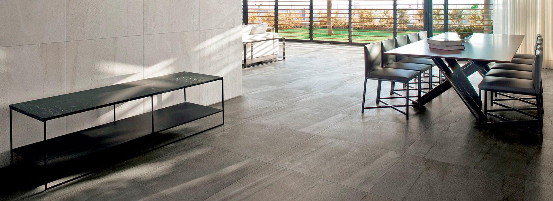 Floor tile that looks like stone