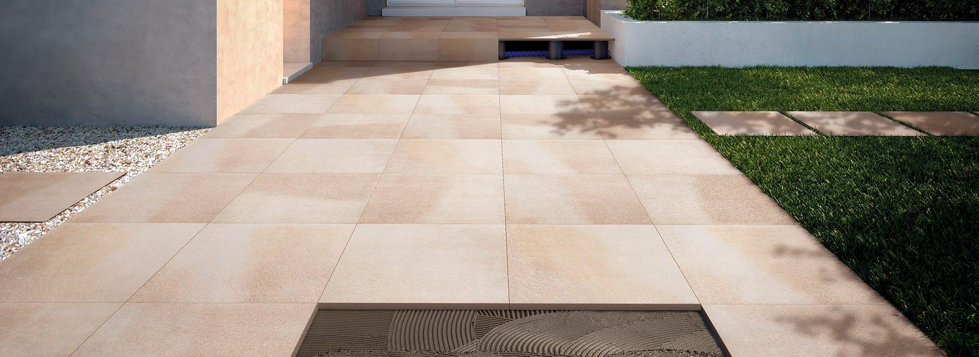 Outdoor Pavements Tiles For Raised Floors Fmg Fabbrica Marmi E