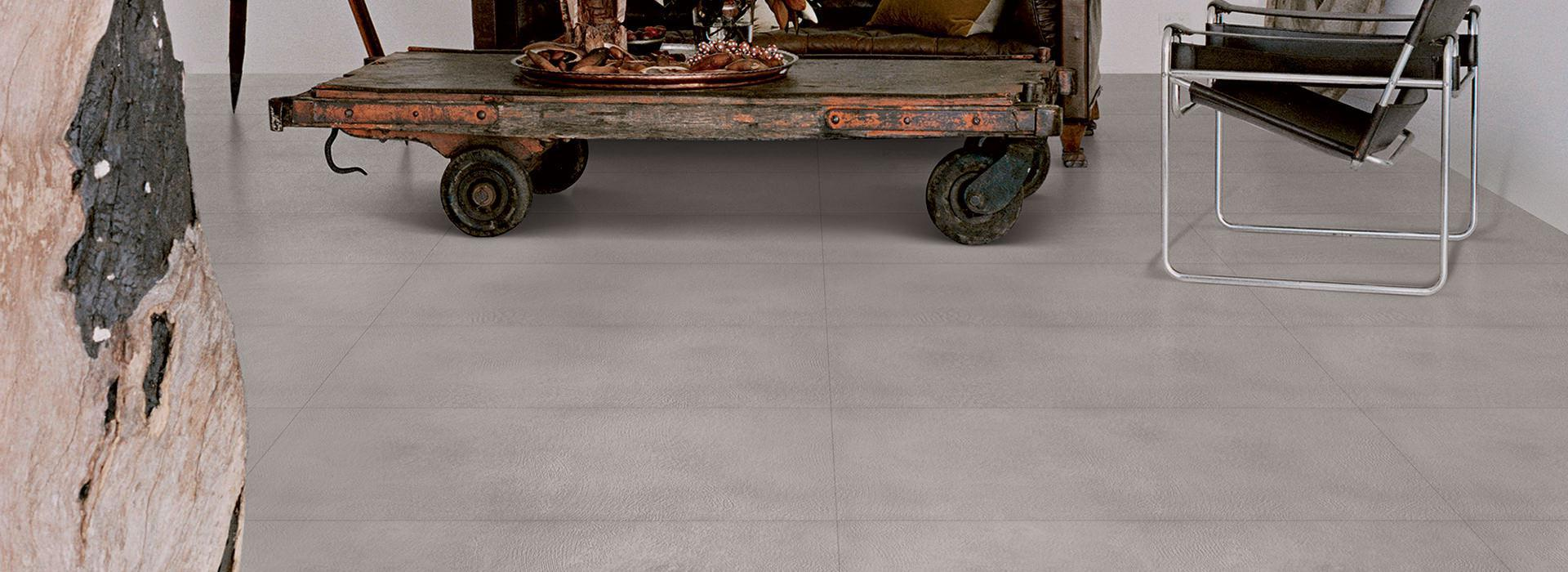 Pure Cement Grey Floor And Wall Coverings That Look Like