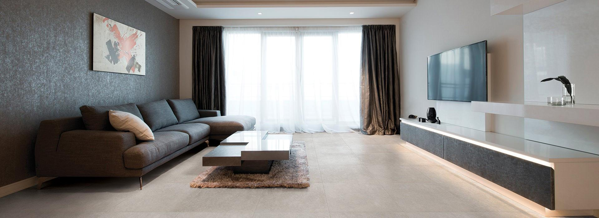 Shade Grey Porcelain Tiles
