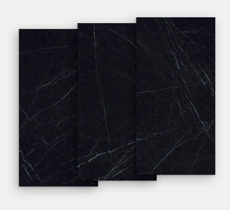 Black Porcelain Tiles Black Marquinia Marmi